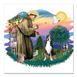 St.Francis #2/ Greater Swiss Square Car Magnet 3&q