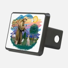 St.Francis #2/ Ital Grey (f) Hitch Cover