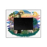 St.Francis #2/ Yellow Lab Picture Frame