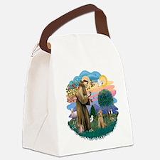 St Francis #2/ Lakeland T Canvas Lunch Bag