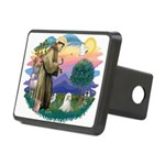 St.Francis #2 / Maltese Rectangular Hitch Cover