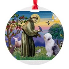 ST. FRANCIS + OES Ornament