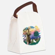 St. Francis #2 / Papillon Canvas Lunch Bag