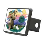 St. Francis #2 / Papillon Rectangular Hitch Cover