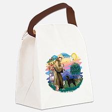 St.Francis #2/ PWD (ret cut) Canvas Lunch Bag