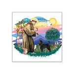 St.Francis #2/ PWD (ret cut) Square Sticker 3&quot