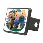 St.Francis #2/ Scottys (2) Rectangular Hitch Cover