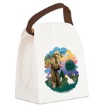 St Francis #2/ Sealyham T Canvas Lunch Bag