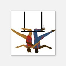 "Pals hang together Square Sticker 3"" x 3"""