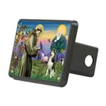 St Francis & Husky Rectangular Hitch Cover