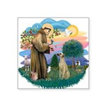 St Francis #2/ Sloughi Square Sticker 3