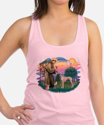 St Francis #2/ Sloughi Racerback Tank Top