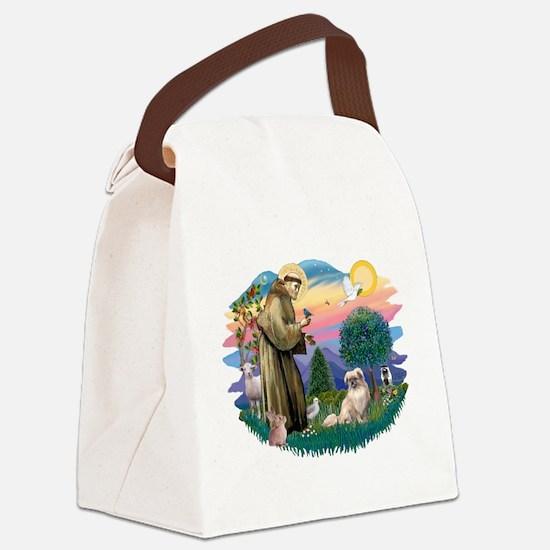 St.Francis #2/ Tibetan Span Canvas Lunch Bag