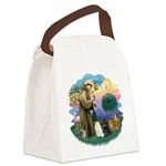 St. Fran (ff) - 3 Persian Cat Canvas Lunch Bag