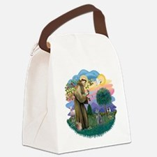St. Fran (ff) - Russian Blue Canvas Lunch Bag