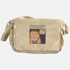Therapy Cartoon Messenger Bag