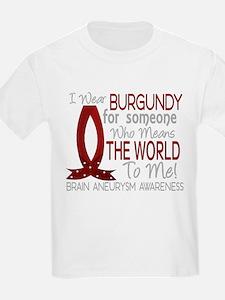 Brain Aneurysm MeansWorldToMe T-Shirt
