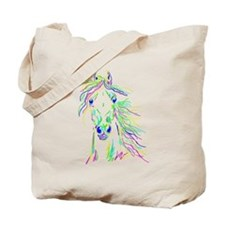 Colorful Steed Tote Bag