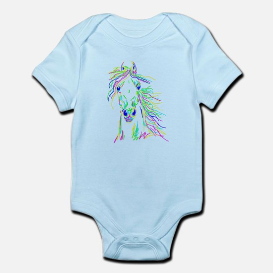 Colorful Steed Infant Bodysuit