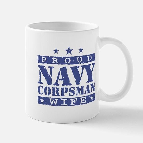 Navy Corpsman Wife Mug