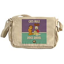 CFA Logo & Garfield Rules Messenger Bag