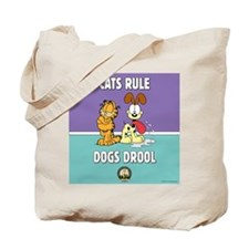 CFA Logo & Garfield Rules Tote Bag