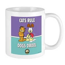 CFA Logo & Garfield Rules Mug