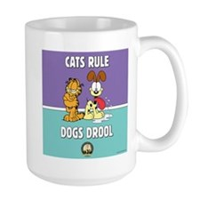 CFA Logo & Garfield Rules Large Mug