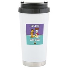 CFA Logo & Garfield Rules Stainless Steel Trav