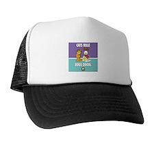 CFA Logo & Garfield Rules Trucker Hat