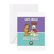 CFA Logo & Garfield Rules Greeting Card