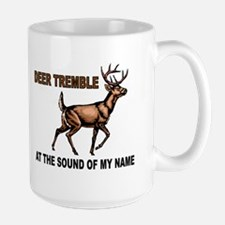 DEER TREMBLES Large Mug