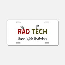 RAD TEch runs with radiation.PNG Aluminum License