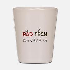 RAD TEch runs with radiation.PNG Shot Glass