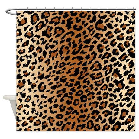Leopard Print Shower Curtain