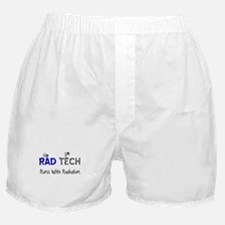 Rad Tech blue.PNG Boxer Shorts