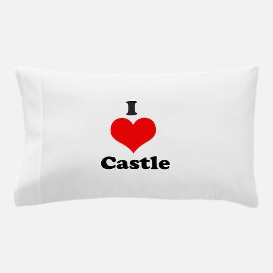 I Heart Castle Pillow Case