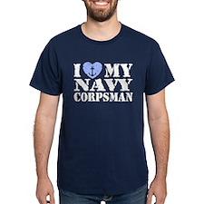 I Love My Navy Corpsman T-Shirt