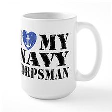 I Love My Navy Corpsman Mug