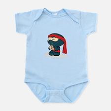 Dark Ninja with Tea Infant Bodysuit