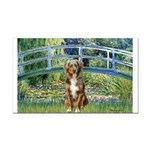 Bridge-Aussie Shep (#5) Rectangle Car Magnet