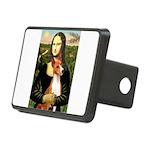 Mona Lisa-Basenji #1 Rectangular Hitch Cover