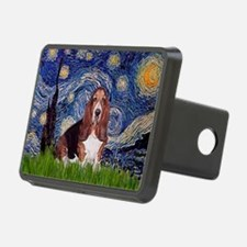Starry / Basset Hound Hitch Cover