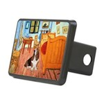 Van Gogh's Room & Basset Rectangular Hitch Cover
