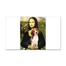 Mona's Beagle #1 Rectangle Car Magnet