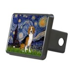 Starry Night & Beagle Rectangular Hitch Cover
