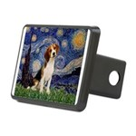 Starry Night / Beagle Rectangular Hitch Cover