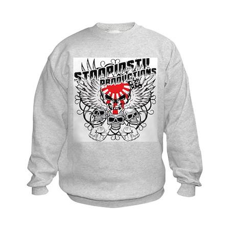 StoopidStu Productions Kids Sweatshirt