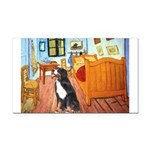 5.5x7.5Room-Bernese.png Rectangle Car Magnet
