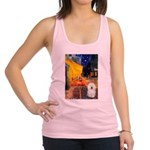 Cafe & Bolognese Racerback Tank Top